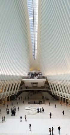 The innovative shopping and transportation hub of Oculus Mall (Source Ronny Max)   Behavior Analytics Academy