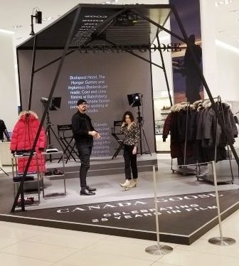 Canada Goose Studio in Nordstrom flagship (Source Ronny Max) | Behavior Analytics Academy