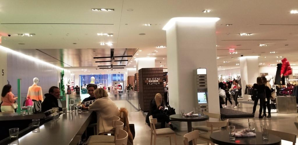 Winter coats, pop-ups, and bars at Nordstrom (Source Ronny Max) | Behavior Analytics Academy