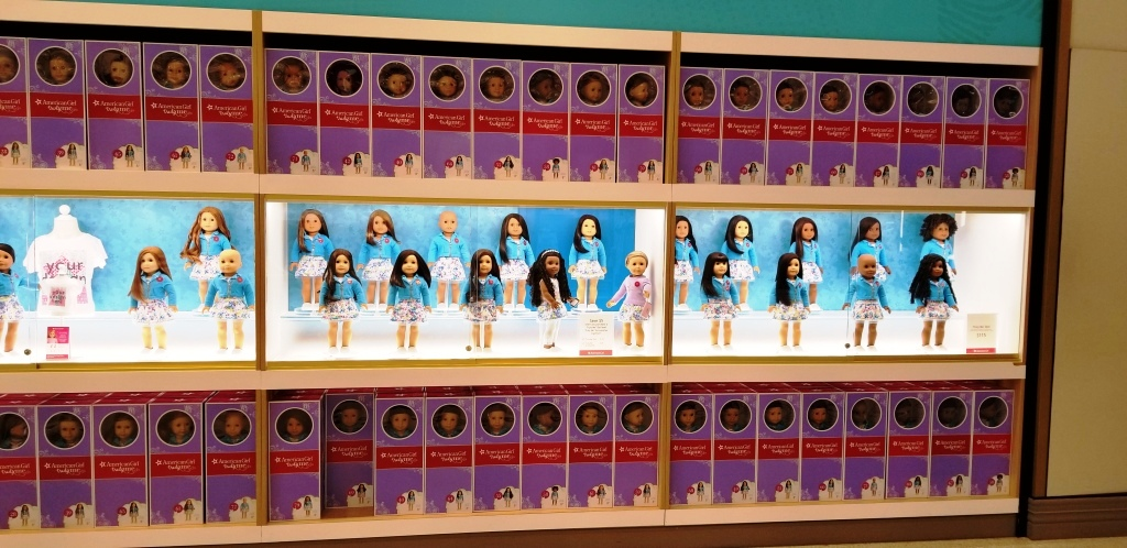 Customize & Play with Dolls at American Girl (Source Ronny Max)   Behavior Analytics Academy